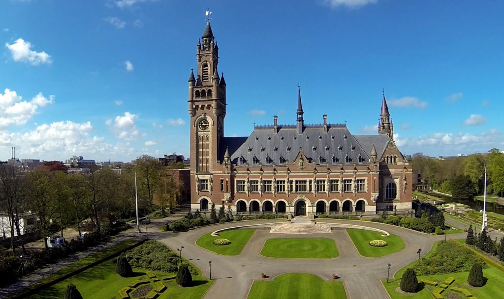 Peace Palace - Seat of the ICJ -The Hague, The Netherlands