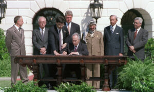 Signing of the Oslo I Accord