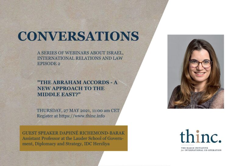 """The """"Abraham Accords"""" - a new approach to the Middle East?"""